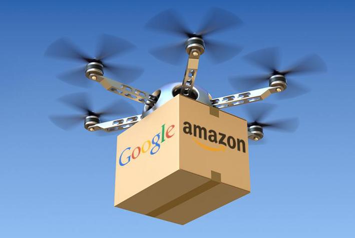 Google Drone & Amazon