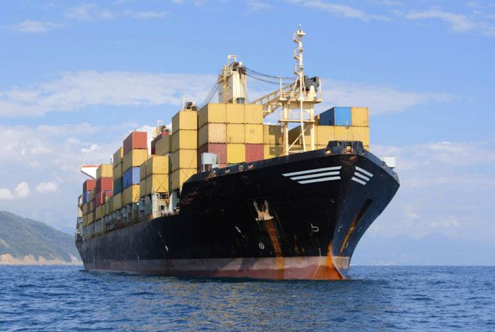 Sea Cargo Ship